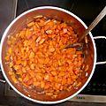 Soupe carottes, miel et orange