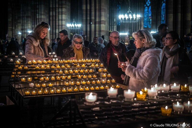 Toussaint cathédrale Strasbourg 01 novembre 2017