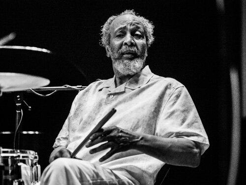 Milford Graves N&B