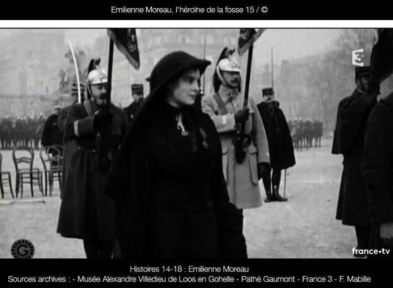 Emilienne Mreau décorée