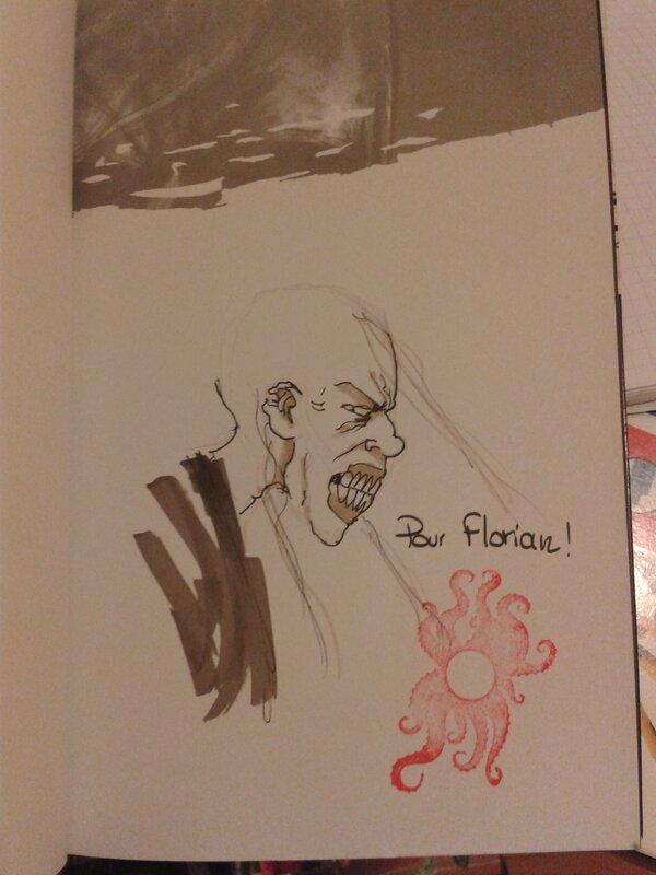 Dédicace de Fabrice Gagos pour votre serviteur (Comic Con 2013)