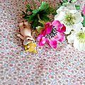 coton fleurs de cerisier