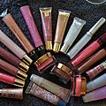 Ma collection de gloss