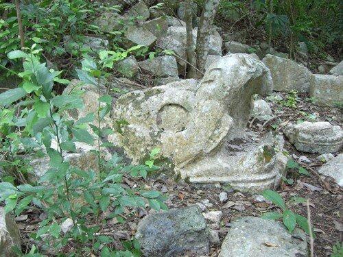Chichen Itza - In the jungle near Steam Baths