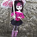 Robe draculaura monster high
