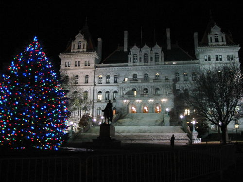 Washington Park - Christmas Lights - Albany - New York