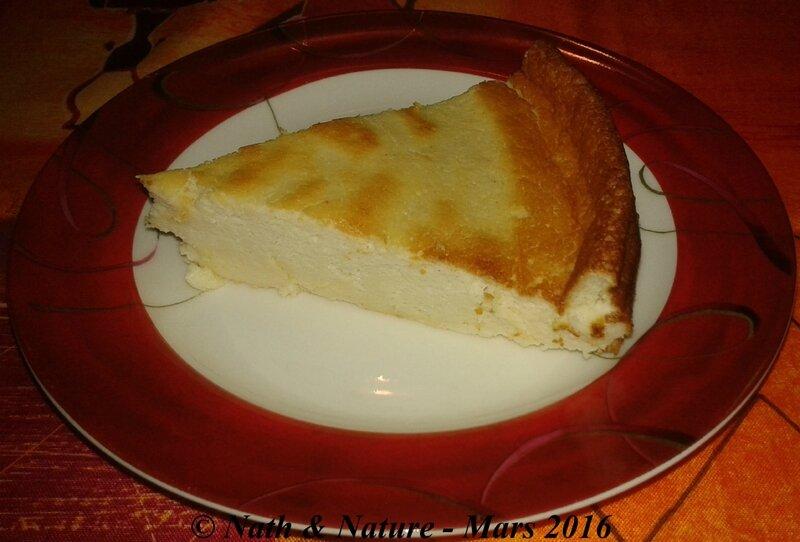 Gâteau au fromage blanc version healthy - 2