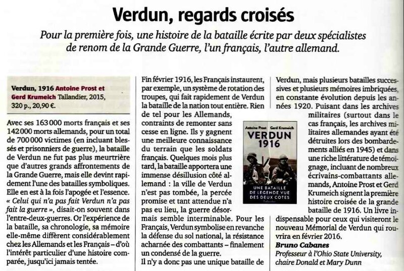 Verdun regards croisés