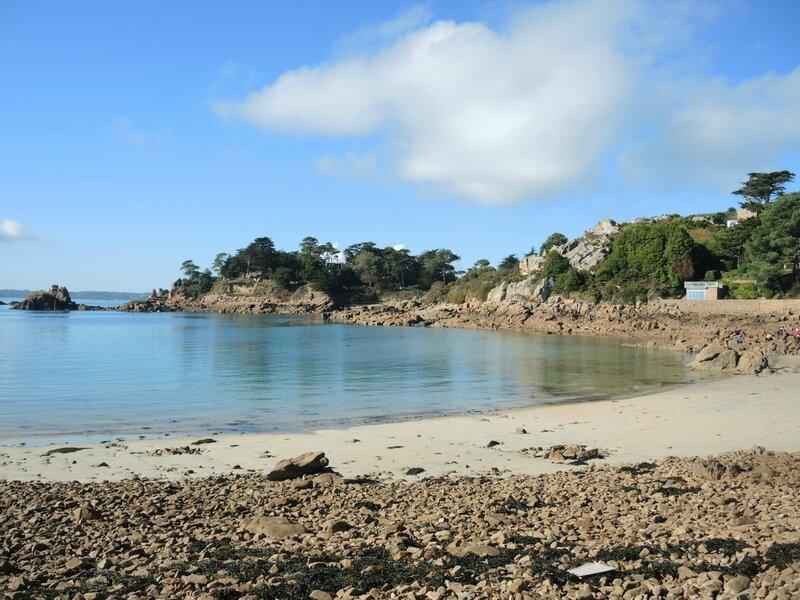 Île de Bréhat, plage de Guerzido
