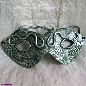 Masque vert et argent (1)