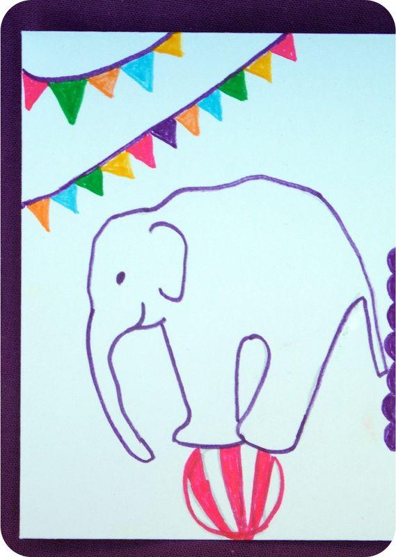 Enveloppe-circus-détail