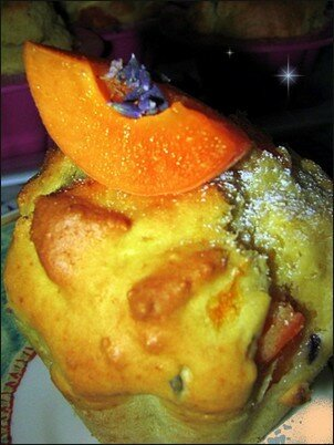 Muffins Abricot lavande de Free Cuisine