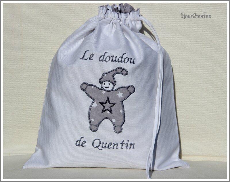 sac doudou Quentin