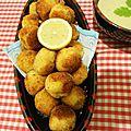 Croquettes de pommes de terre au poulet