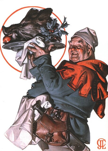 Boar's Head - JC Leyendecker, 1924