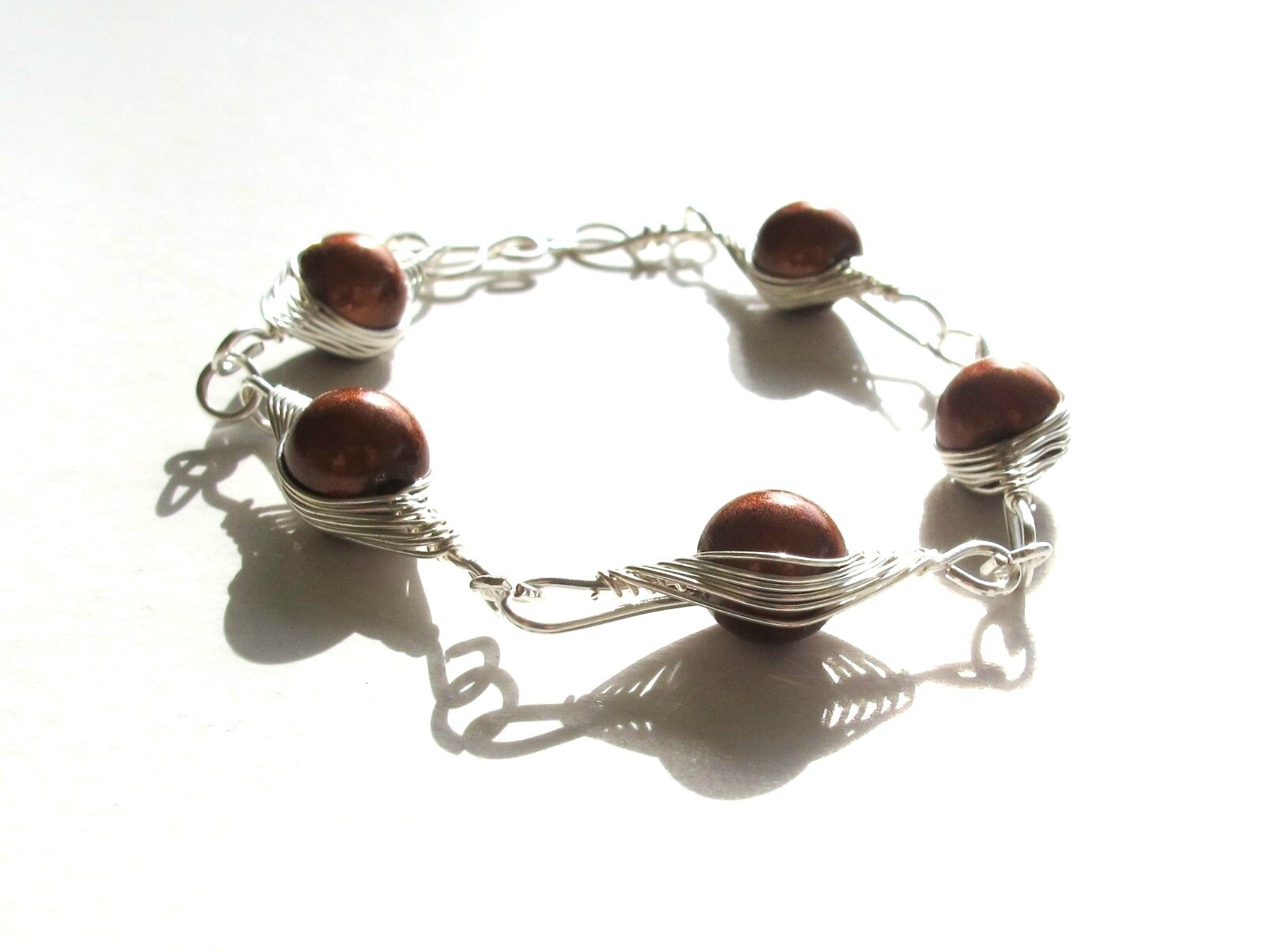 bracelet marron 2