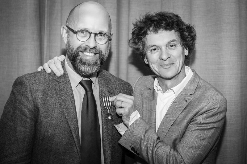 Frederic Fougerat et Guy Martin - Arts et Lettres - Credit B Frenette
