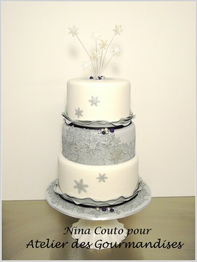 wedding cake Noel Nina Couto blog