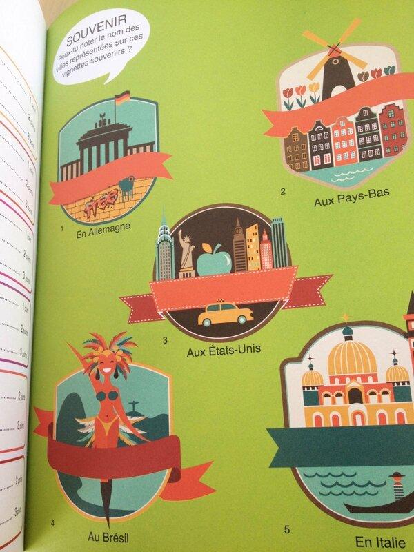 Cahier Vive les vacances Edition Langue au chat Pays