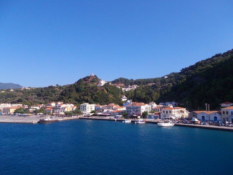 A l'approche de Samos