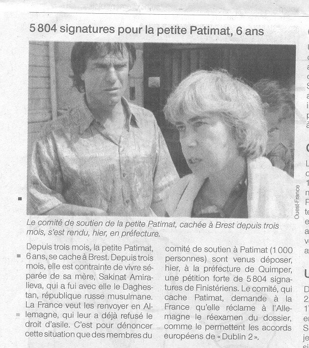 OUEST FRANCE 04-07-06