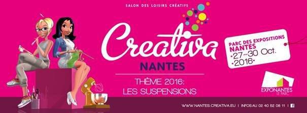 Créativa Nantes 2016.. Concours 5 places à gagner