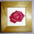 Petite rose (1re broderie)