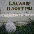 11 août 1914 lagarde