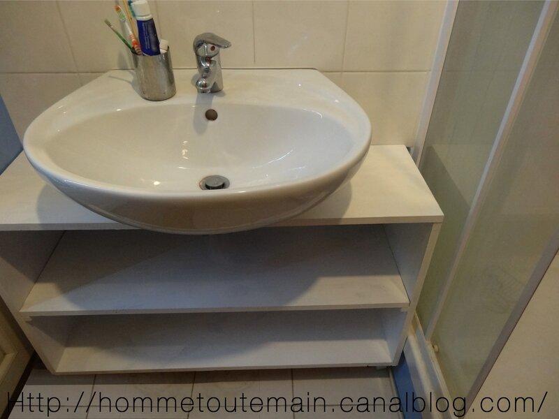 cr ation d 39 un meuble sous vasque sur mesure 2 r nover cr er d corer. Black Bedroom Furniture Sets. Home Design Ideas