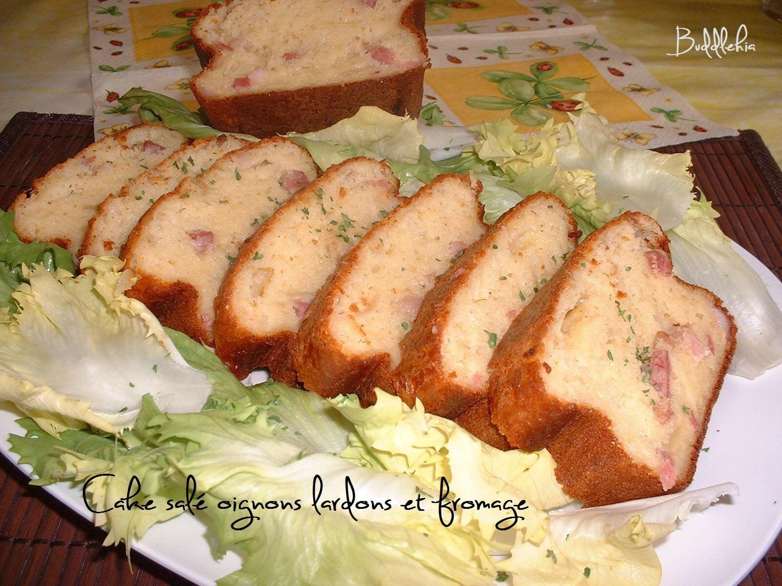 Cake sal aux allures savoyardes oignons lardons for Comment congeler du pain