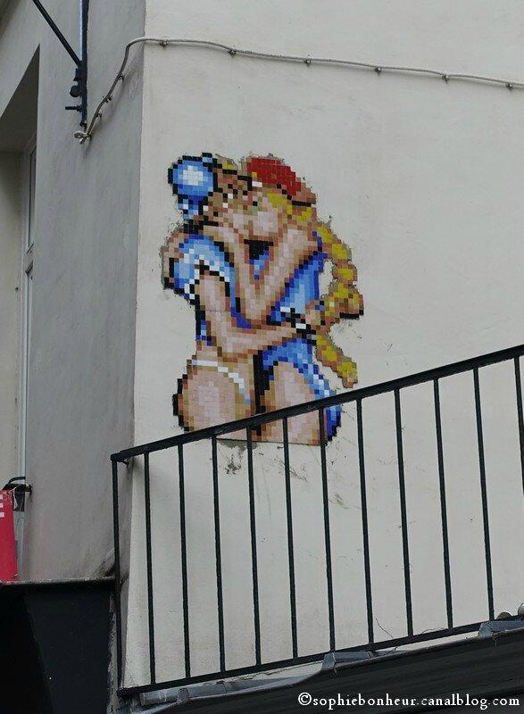 mur mosaïque