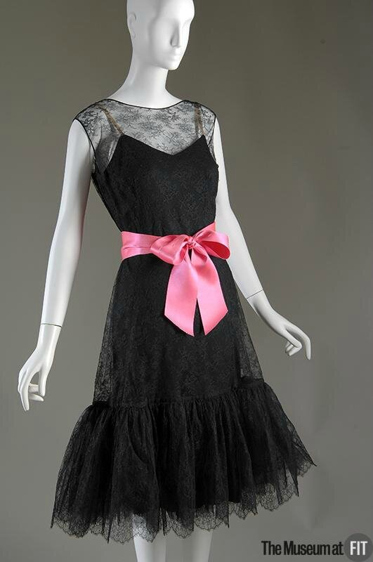 Cristobal Balenciaga, Evening dress, c.1957