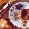 Escalope de foie gras laquée au cidre