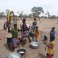 Le village de Kawara en Afrique
