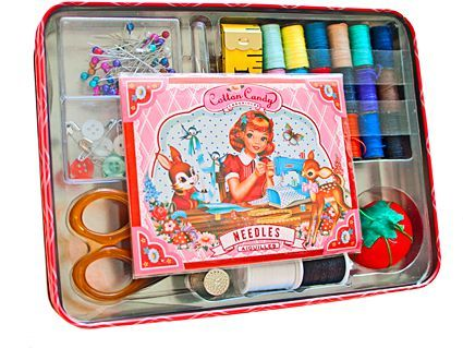 Cotton Candy Sewing Kit inside web