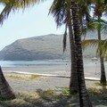 La Gomera-San Sebastian playa et cocotiers