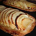 Semelle aux pommes & amandes effiles