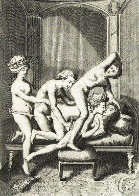 BDSM marquis de dessins de jardin