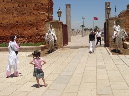 entree Mausolee Rabat