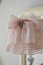 lampe shabby chic vx rose a - 1