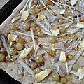 Tarte raisins oignons façon focaccia