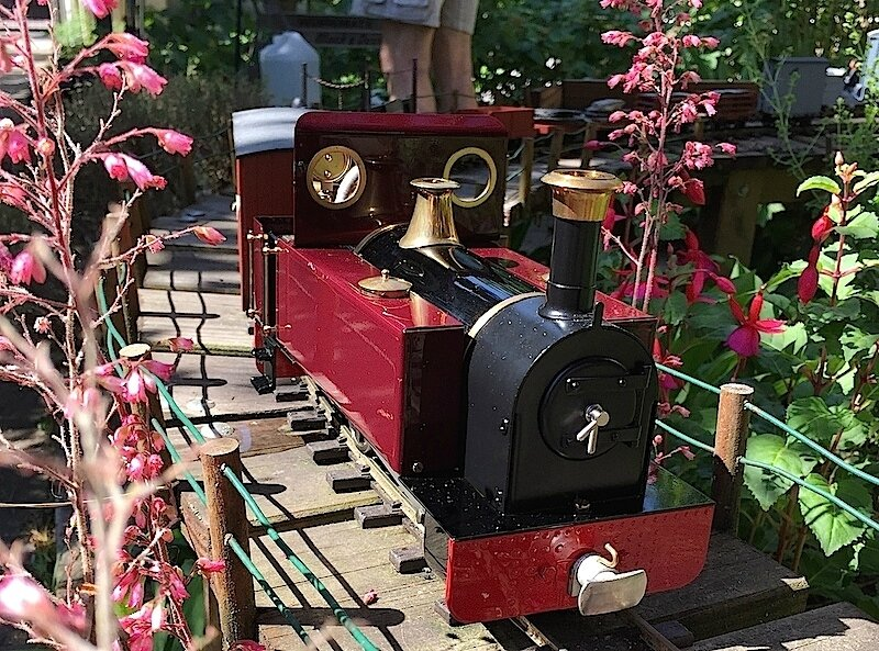 Prunus Light Railway chronicles. Open day!