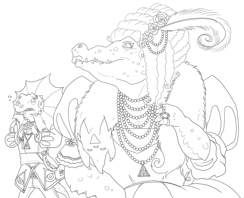 frilled lizard coloring pages frilled