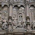 Porte d 'entrée de la cathédrale de Beauvais (60)