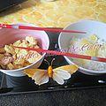 Curry de poulet au coco