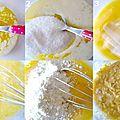 Cake pêche et amaretti