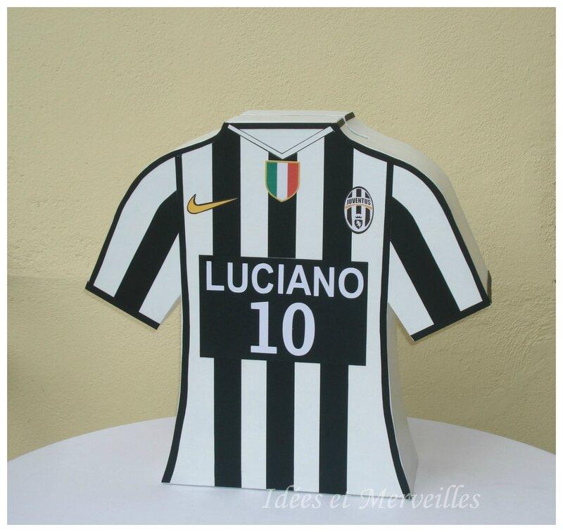 urne Football Juventus - Idées et Merveilles