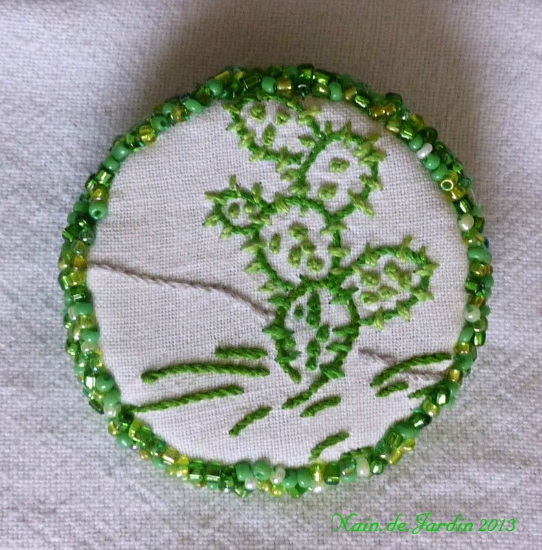 Broches bijoux Nain