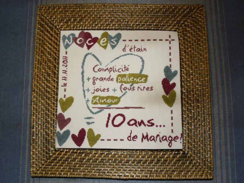 Cadeau noces d 39 meraude - 10 ans de mariage cadeau ...