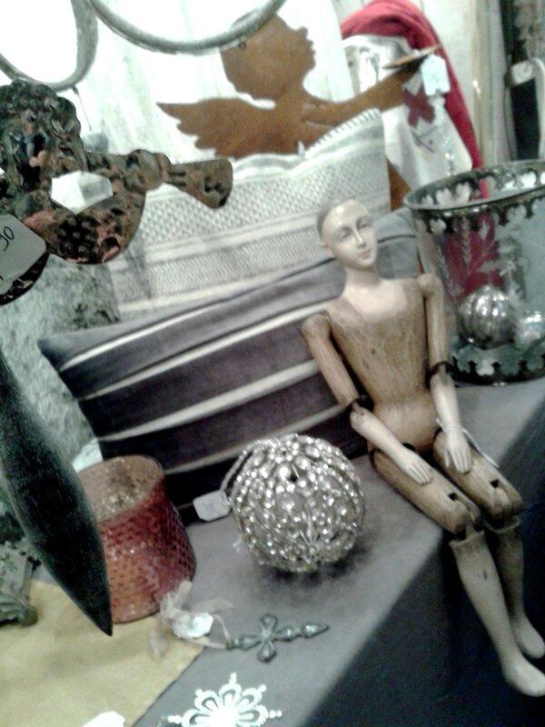 anges,manequin,boule de noël,